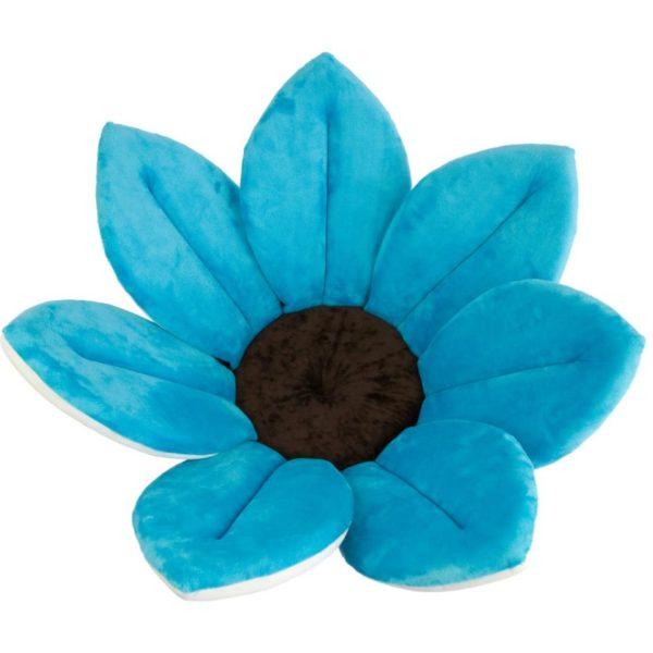 blooming bath blue