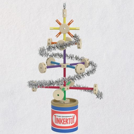 Hallmark Christmas In July 2019 Ornaments.Hasbro Tinkertoy Tree Available For Release On July 2019