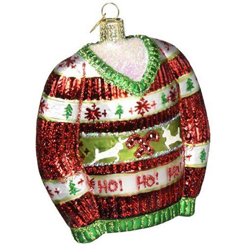 Festive Christmas Sweater ornament